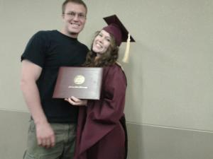 Jenny graduates