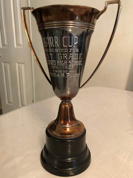 Grandma's trophy